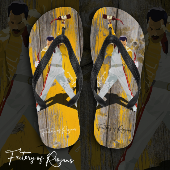 Chanclas Freddie Mercury Vintage
