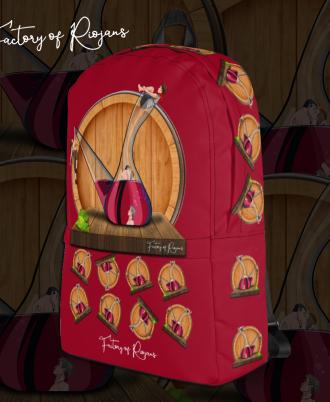 Mochila Unisex Porrón Rioja