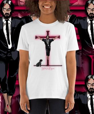 Camiseta Unisex Keanu Reeves mujer