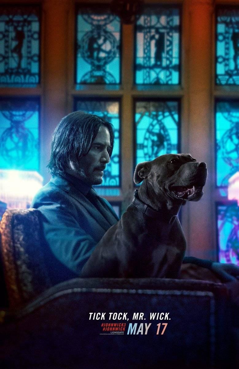 Merchandising de Keanu Reeves y John Wick