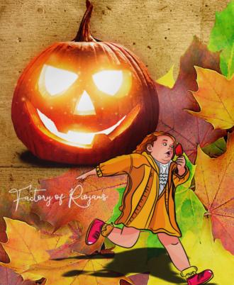 Bolso cordones Unisex Halloween