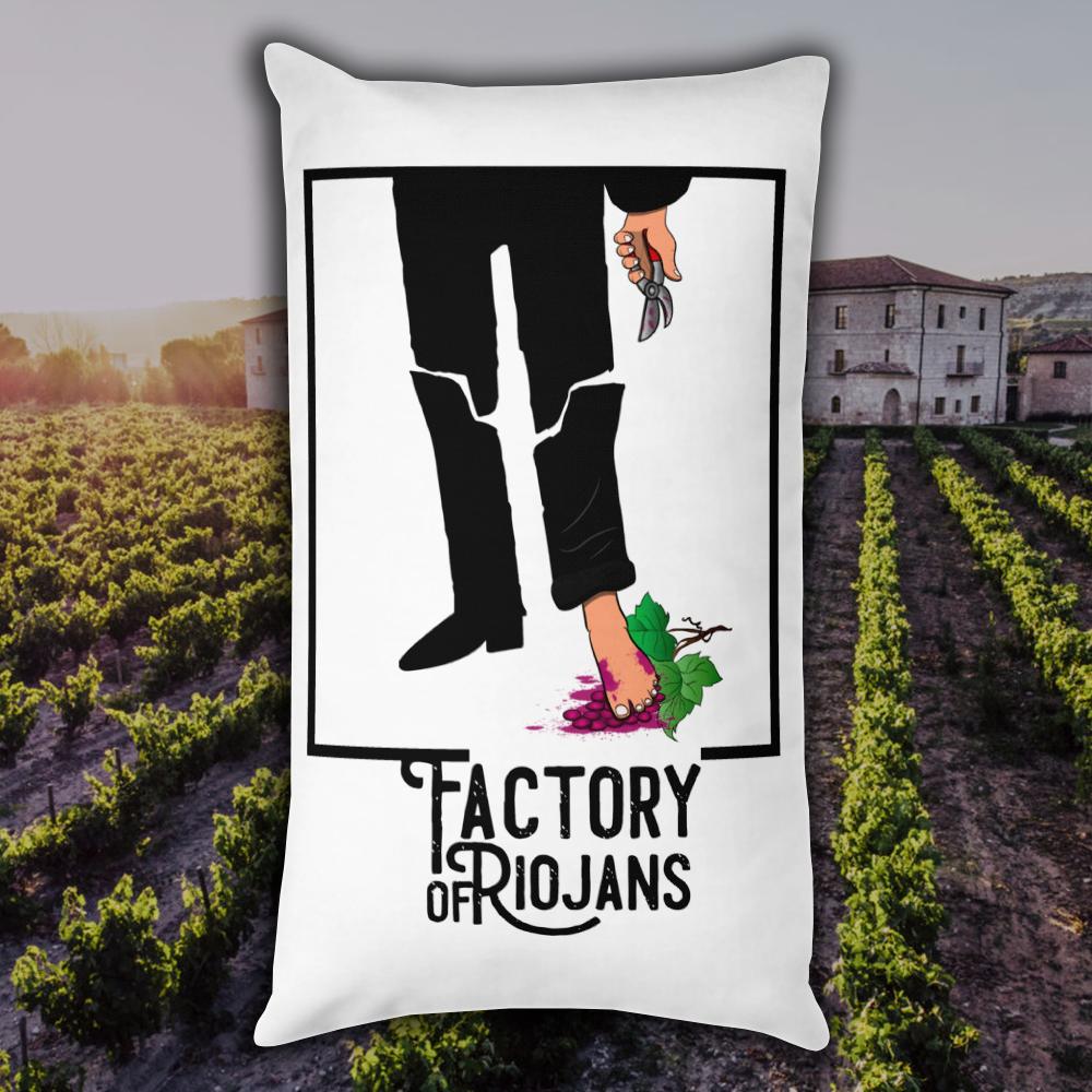 Cojín Barry Lyndon Rioja