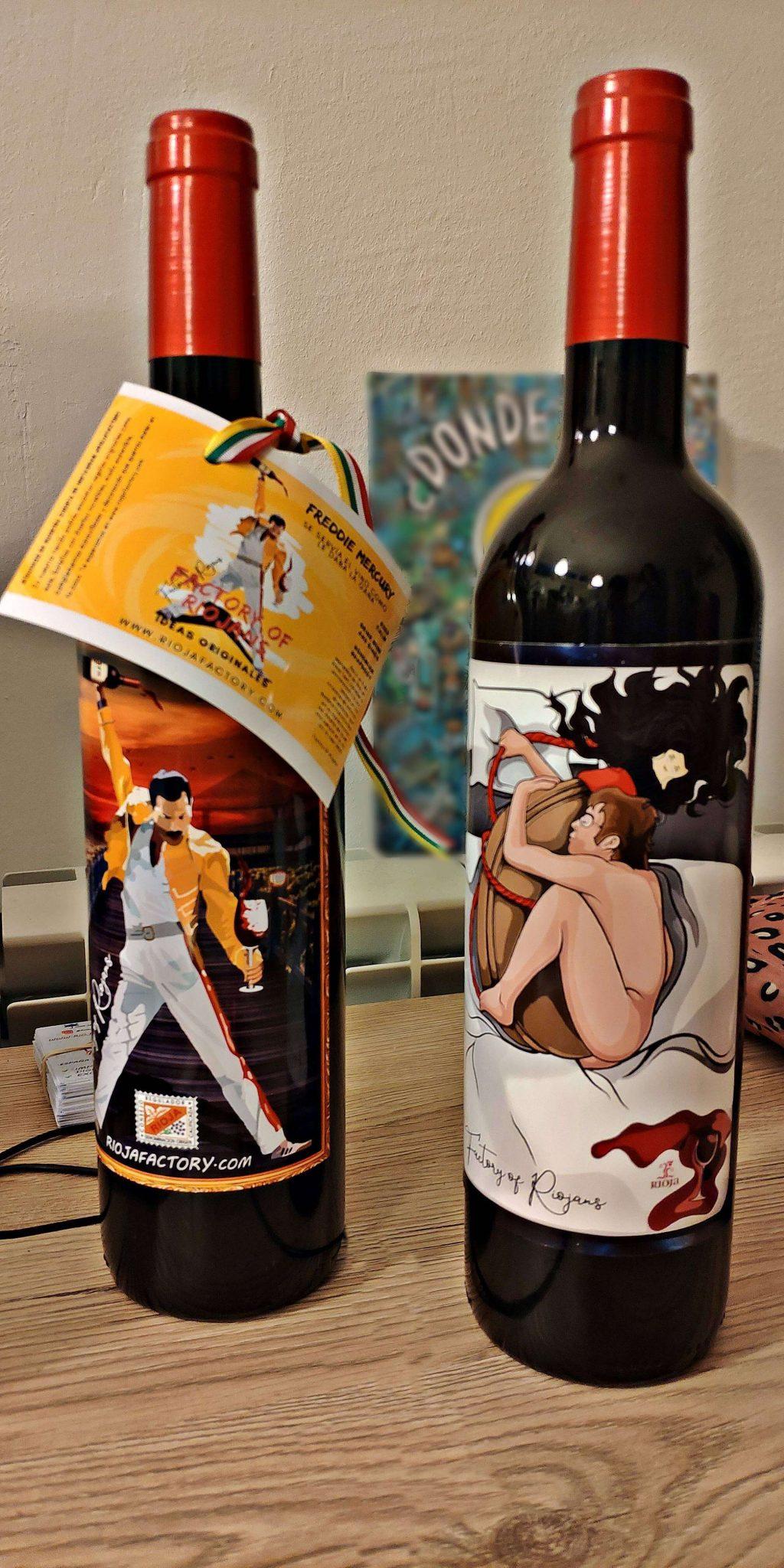 Botellas personalizas de películas y series de éxito