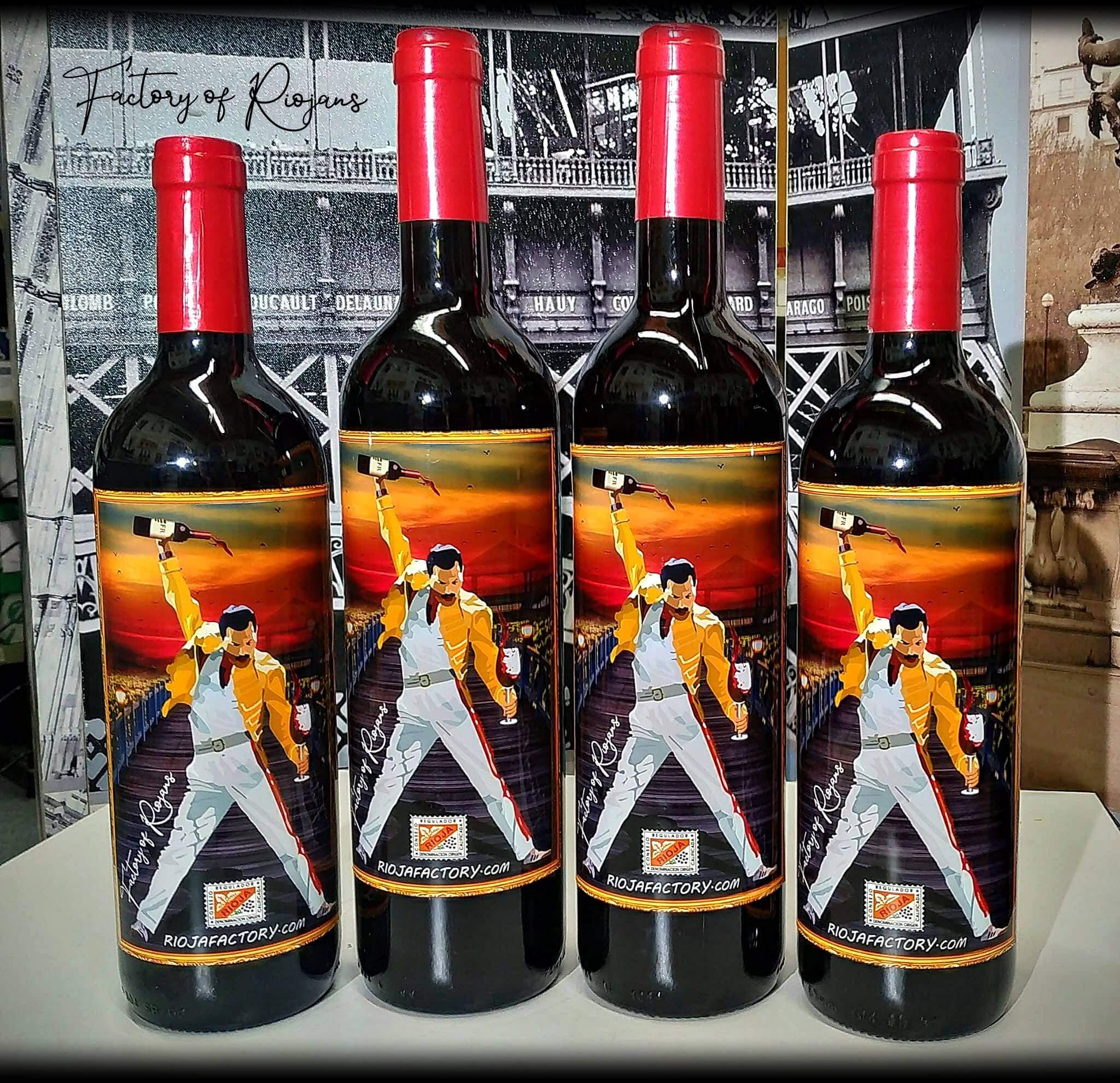 Botellas de vino personalizadas para bodas, eventos, comuniones y bautizos.