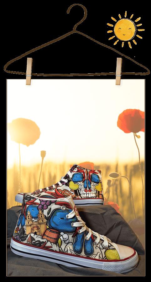 Zapatillas personalizadas online de La Rioja