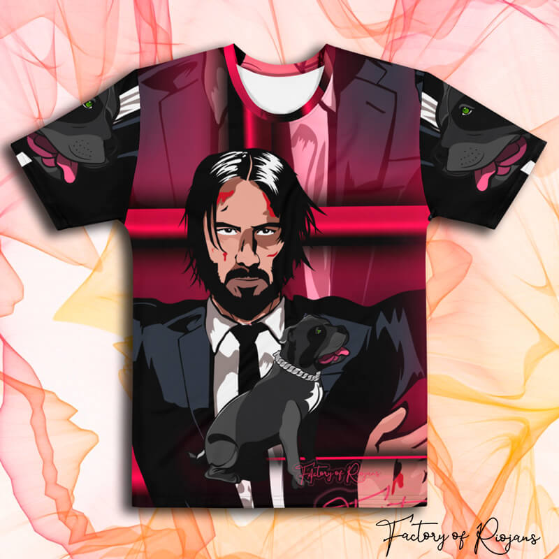 Camiseta de Keanu Reeves/ John Wick