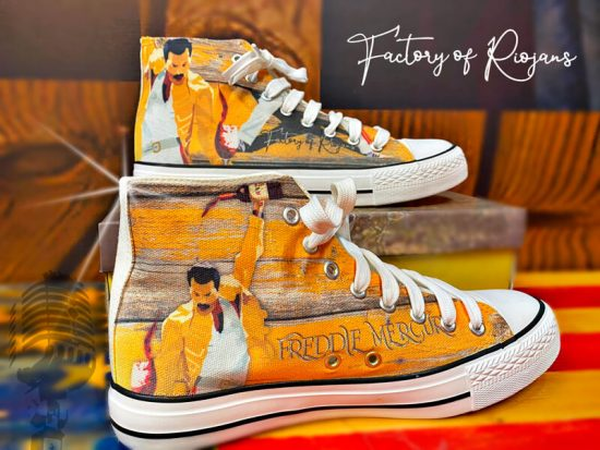 Zapatillas personalizadas con Freddie Mercury