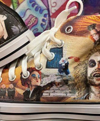 Zapatillas personalizadas de Tim Burton