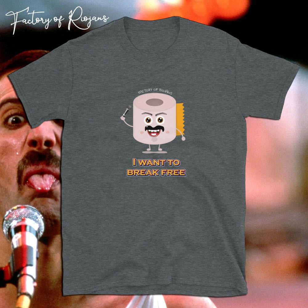 Camiseta unisex Freddie Break Free