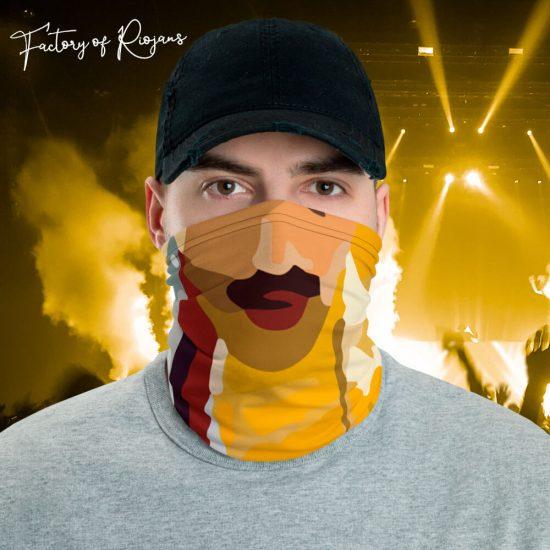 Braga de cuello tributo a Freddie Mercury