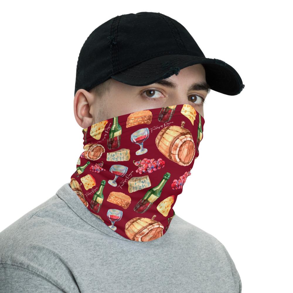 Bragas de cuello unisex con estampados de uvas