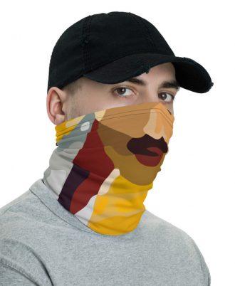 Braga de cuello unisex con la boca de Freddie Mercury