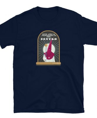 Camiseta unisex azul marino