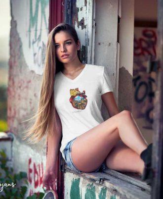 Camisetas únicas para mujer