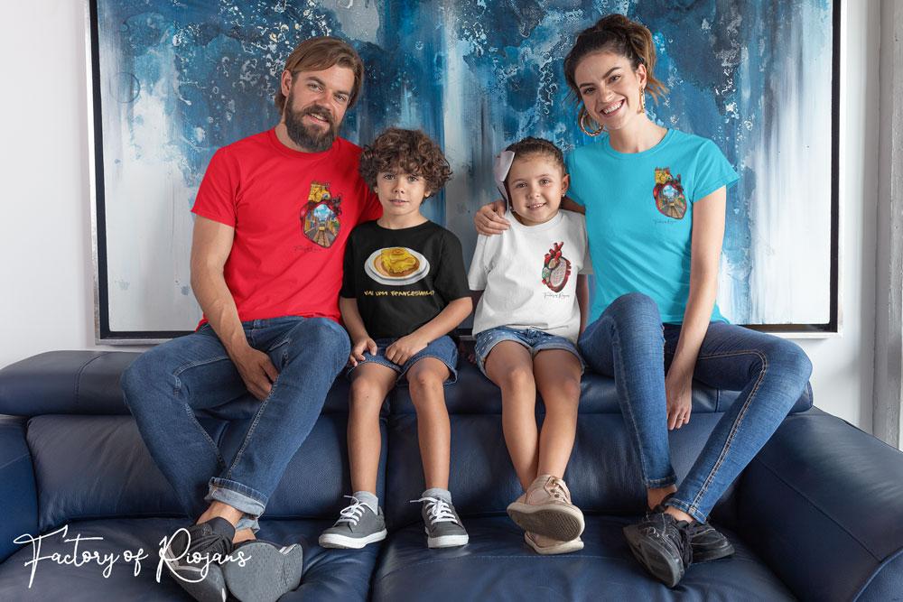 Moda familiar para parejas con hijos