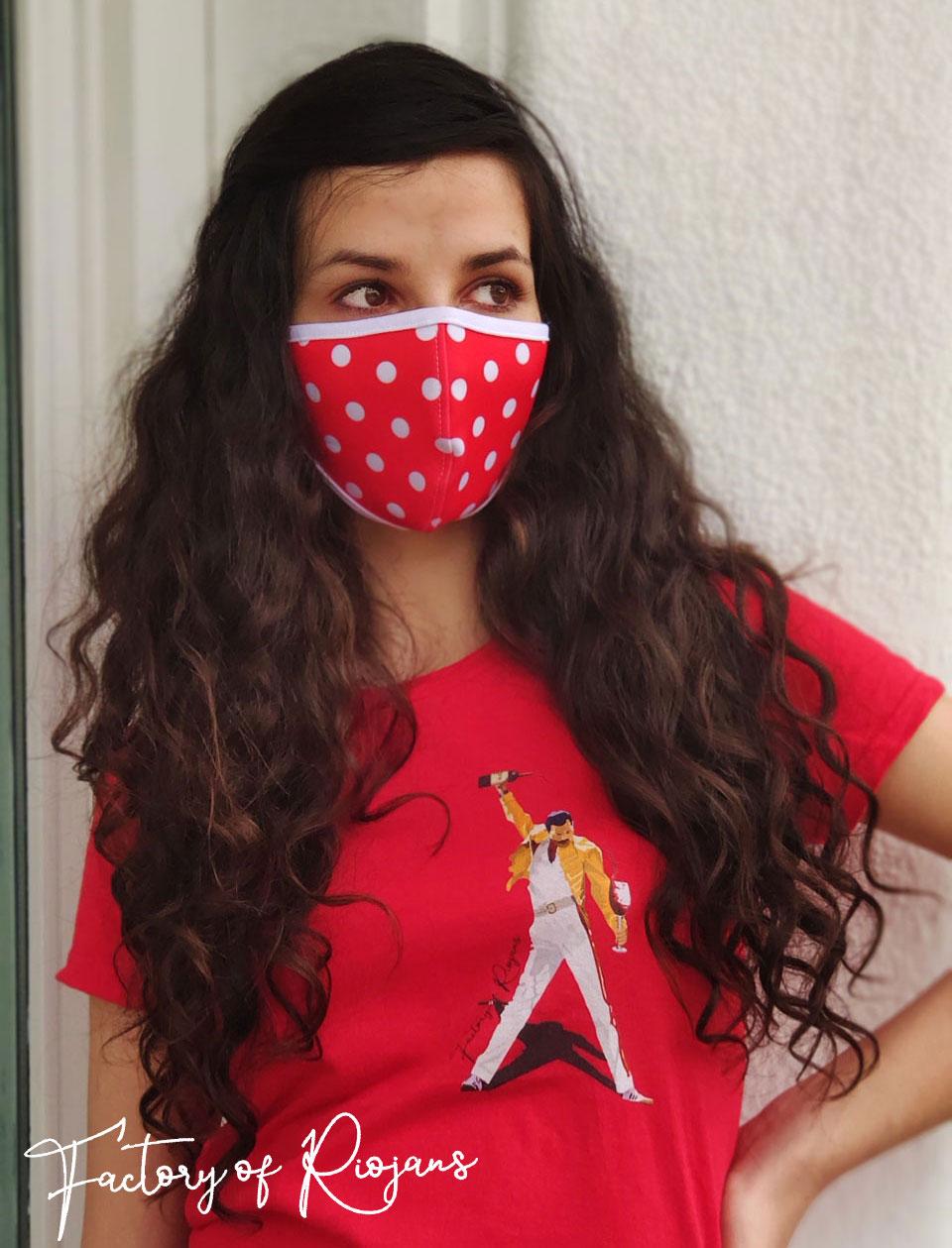 Mascarillas de mujer reutilizables para protegerte del los virus