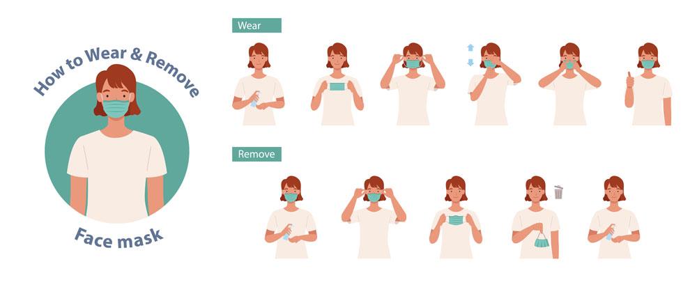 instrucciones mascarillas reutilizables