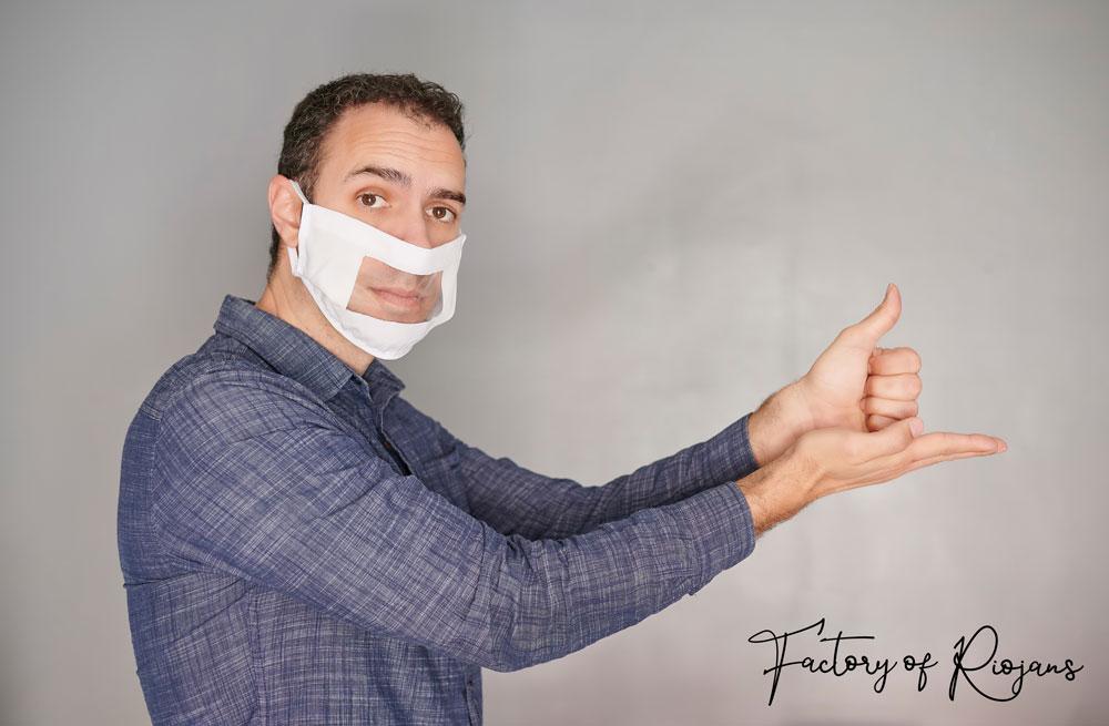 Las mascarillas transparentes te ayudan a comunicarte mejor