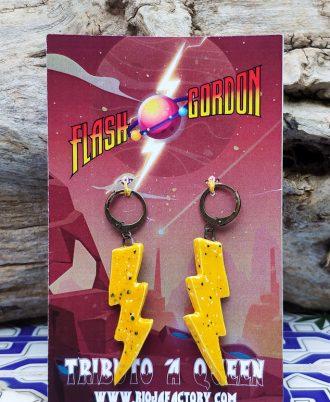 Pendientes Flash Gordon de Queen