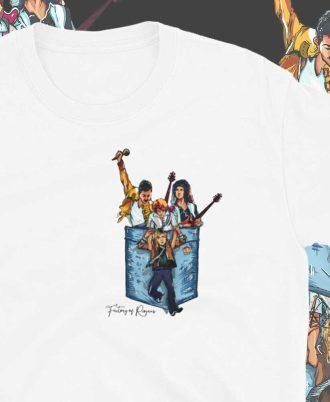 Camisetas de la banda Queen
