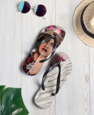 Custom flip flops The Handmaid's Tale