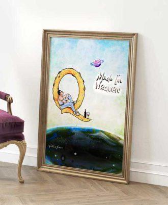 bonitas láminas para decorar tu casa con Freddie Mercury