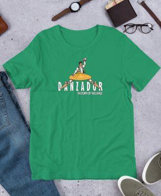 Camiseta de La Rioja con danzador de Anguiano