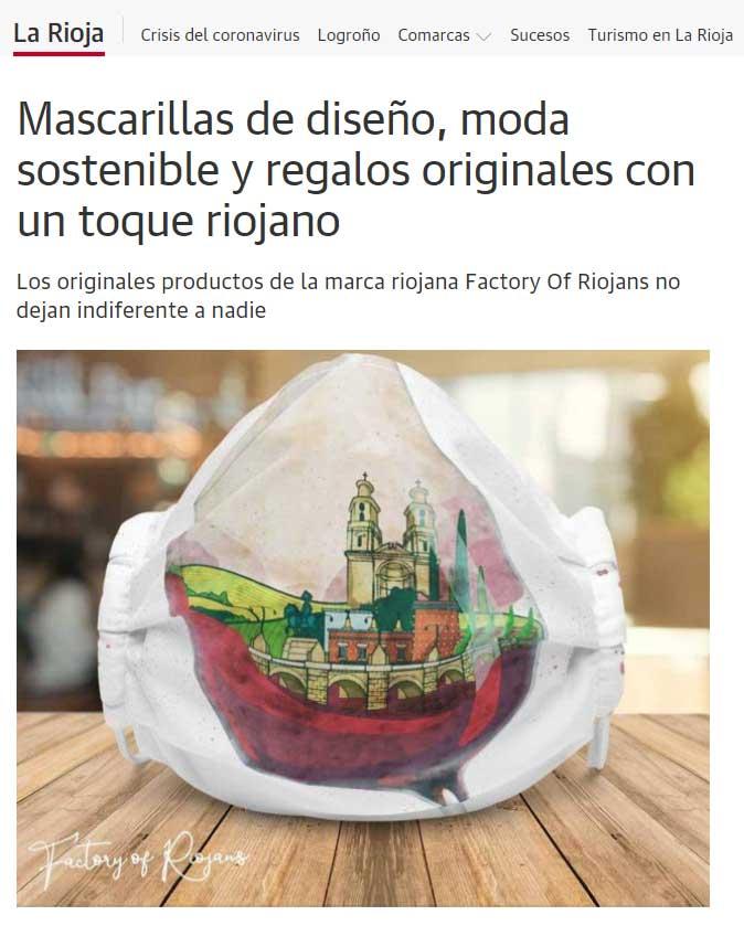 Mascarillas Logroño