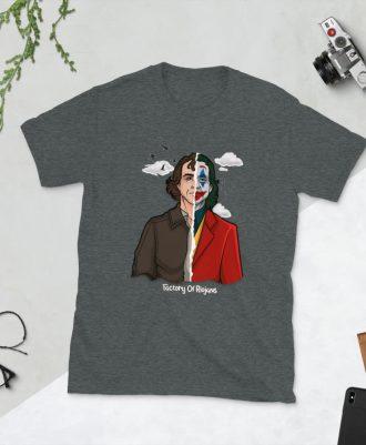 Camiseta gris oscuro Joker 2019