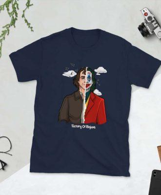 Camiseta azul marino Joker 2019