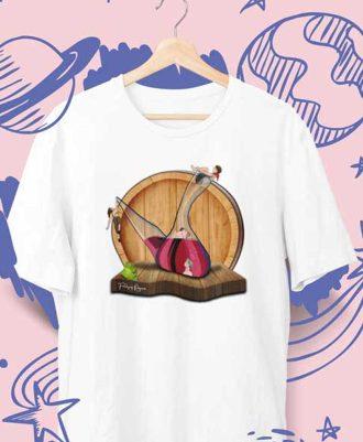 camiseta básica Porrón Riojano