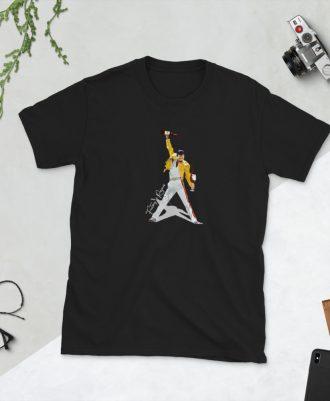 Camiseta negra Freddie Rioja