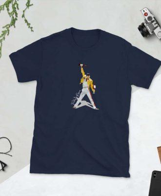Camiseta Freddie Rioja con copa de vino