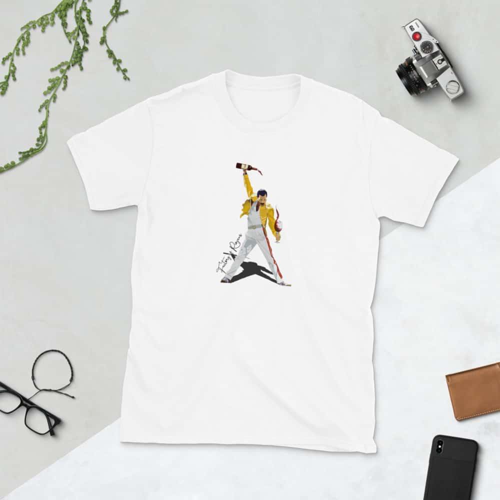 Camisetas blancas con Freddie Mercury