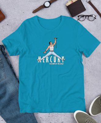Camiseta premium color azul cielo Air Freddie