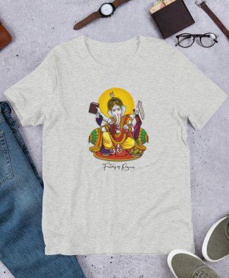 Camiseta Dios del Vino color gris deportivo