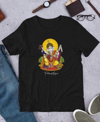 Camiseta Dios del Vino color negro