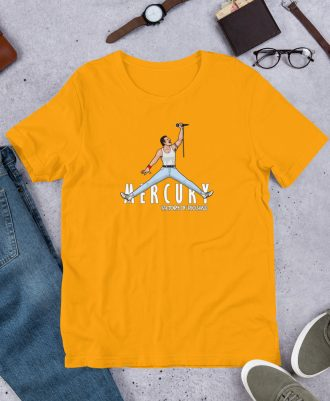 Camiseta premium color amarillo Air Freddie