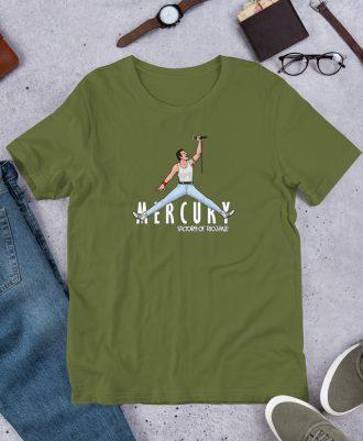 Camiseta premium color verde intenso Air Freddie
