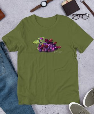 Camiseta verde oliva Alien Rioja