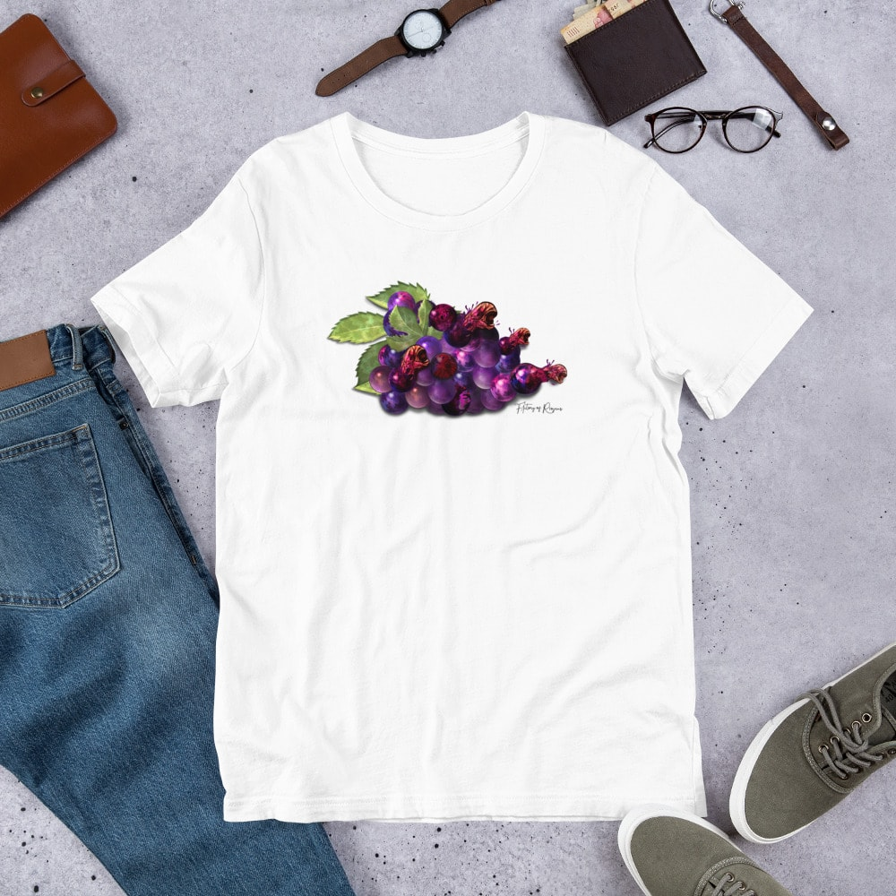 Camiseta blanca Alien Rioja