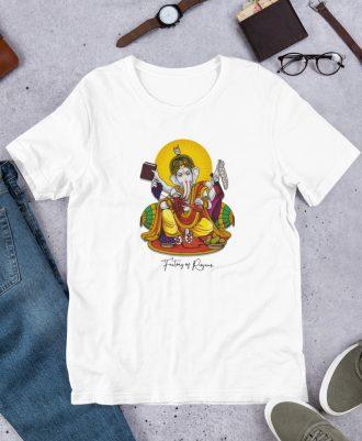 Camiseta Dios del Vino color blanco
