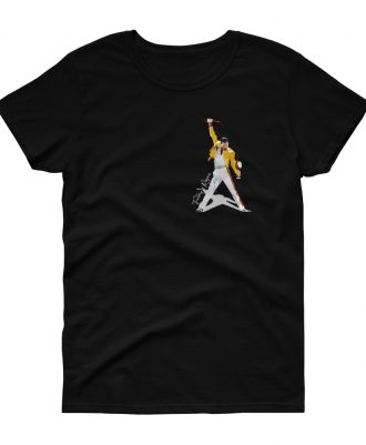 Camiseta negra mujer Freddie Mercury