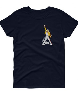 Camiseta azul marino mujer Freddie Mercury