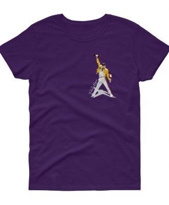 Camiseta malva mujer Freddie Mercury