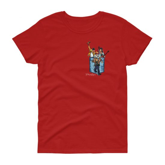 Camiseta para mujer con Queen