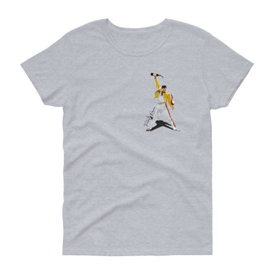 Camiseta manga corta mujer con Freddie Mercury