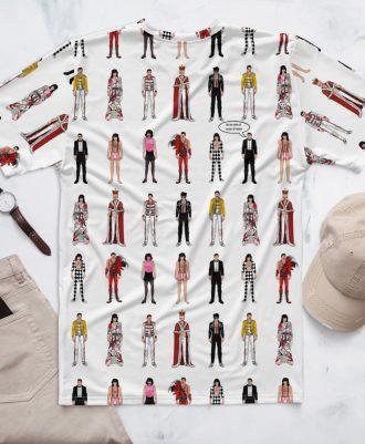 Camiseta sostenible Freddie Mercury