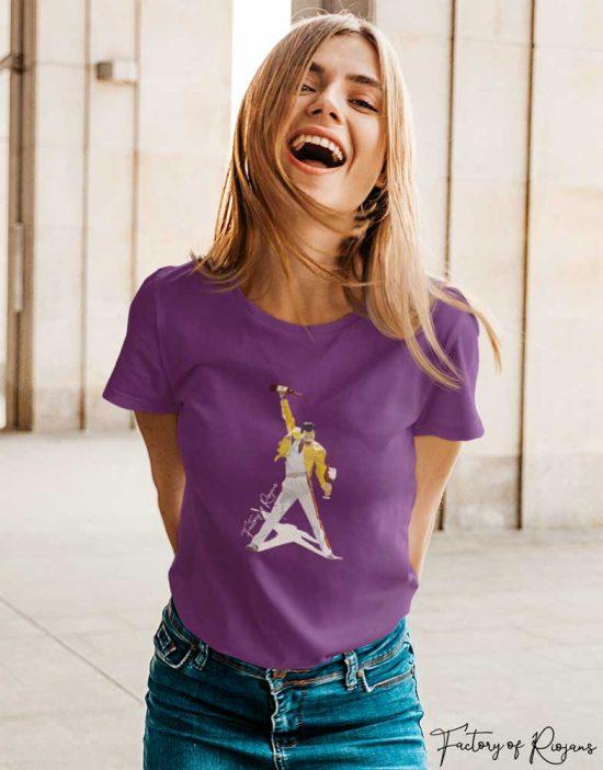 Camiseta mujer Freddie Mercury