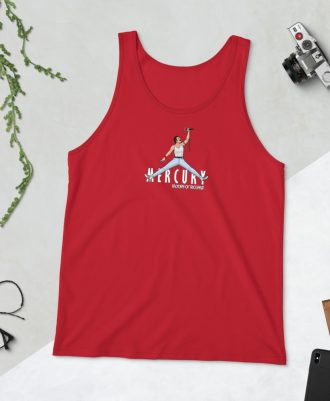 Camiseta tirantes Air Mercury color rojo